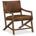 Hooker Furniture Saylor X Arm Club Chair - Item Number: CC519-083