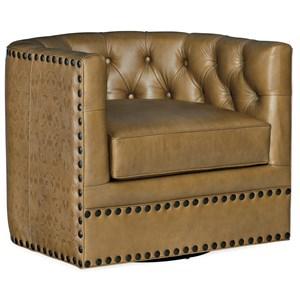 Lennox Tufted Swivel Chair
