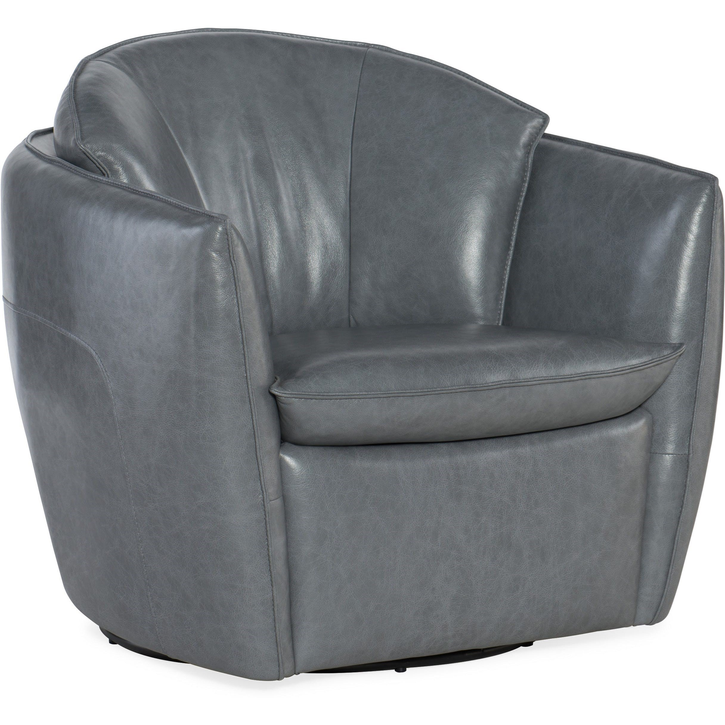 Club Chairs Contemporary Leather Vogue Vintage Swivel
