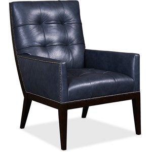 Basey Leather Club Chair