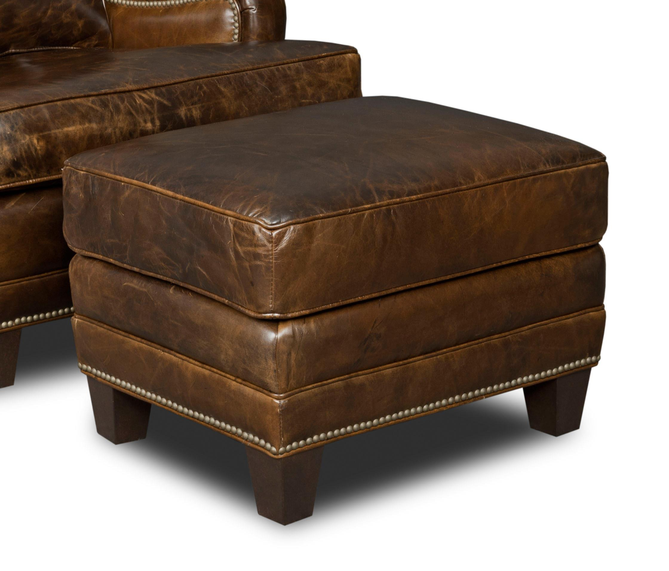 Hooker Furniture Club Chairs Ottoman - Item Number: CC403-OT-087