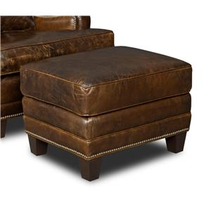 Hooker Furniture Club Chairs Ottoman