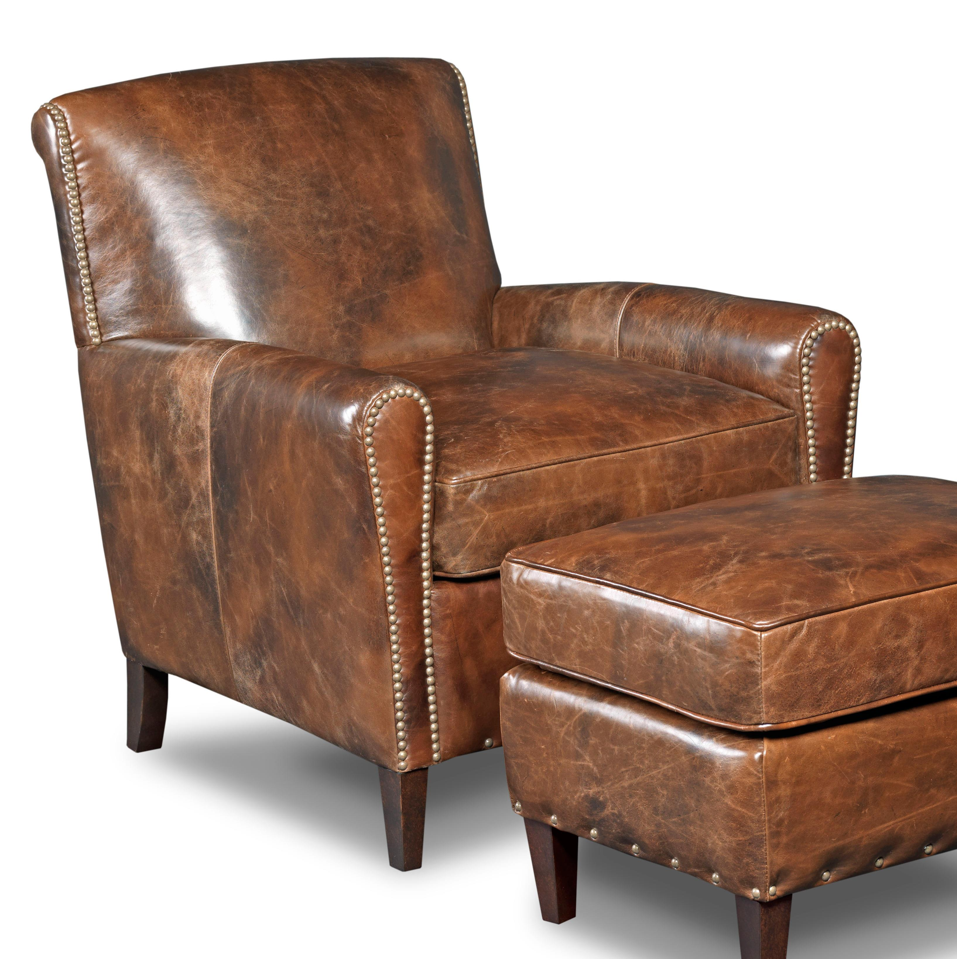 Hooker Furniture Club Chairs Club Chair - Item Number: CC406-088