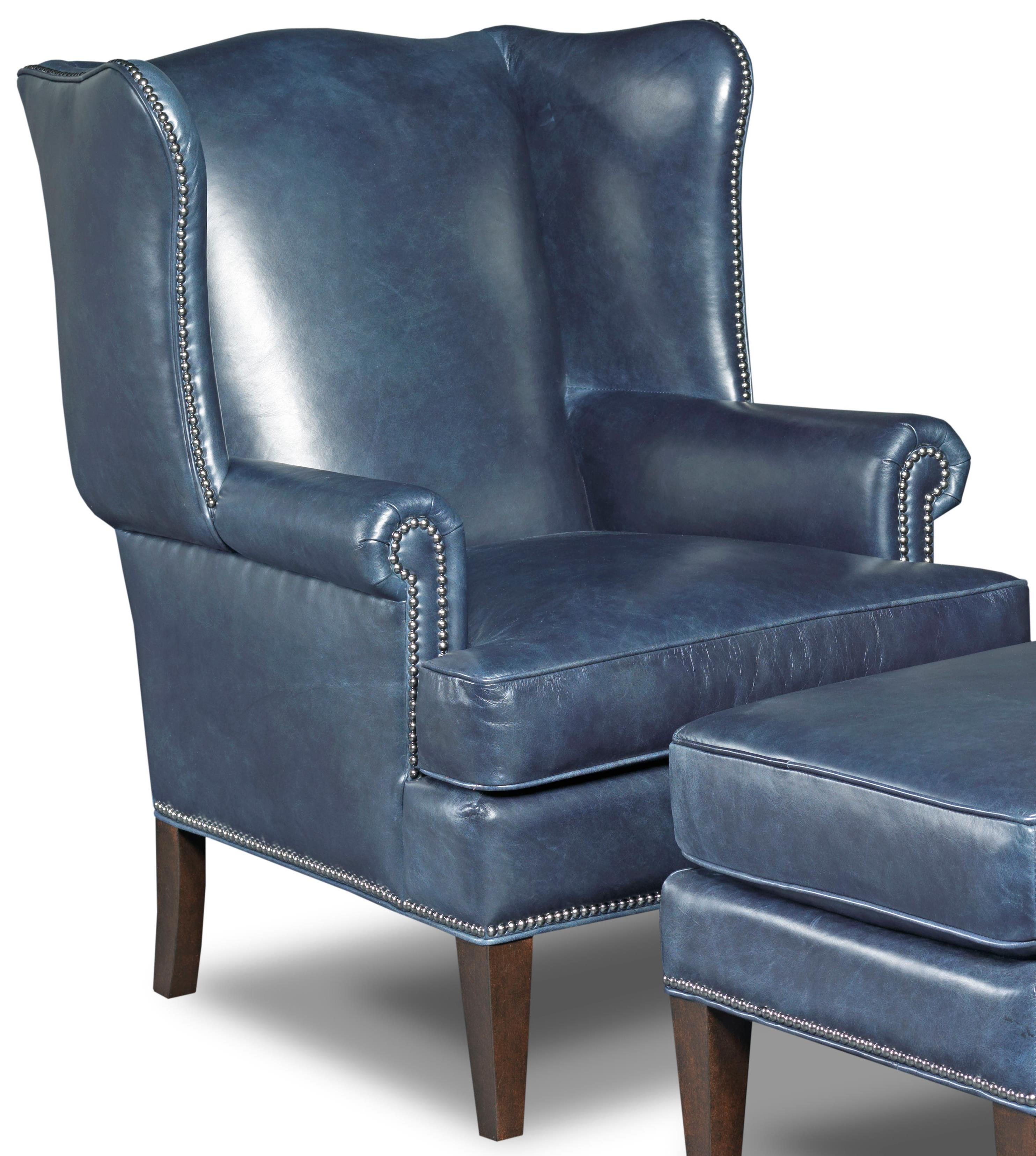 Hooker Furniture Club Chairs Traditional Club Chair - Item Number: CC408-048
