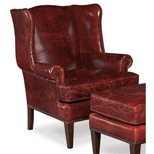 Hooker Furniture Club Chairs Traditional Club Chair