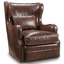 Hooker Furniture Club Chairs Swivel Club Chair - Item Number: CC418-SW-029