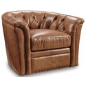 Hooker Furniture Club Chairs Traditional Swivel Club Chair - Item Number: CC424-SW-084