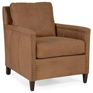 Hooker Furniture Club Chairs Transitional Caine Club Chair