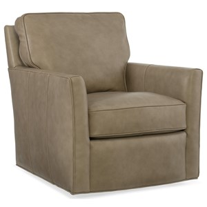 Hooker Furniture Club Chairs Mandy Swivel Club Chair