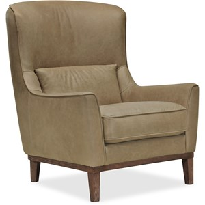 Glover Leather Club Chair