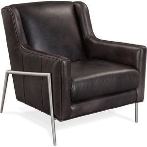 Hamilton Metal Accent Club Chair