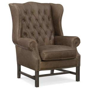 Hooker Furniture Club Chairs Bailey Club Chair