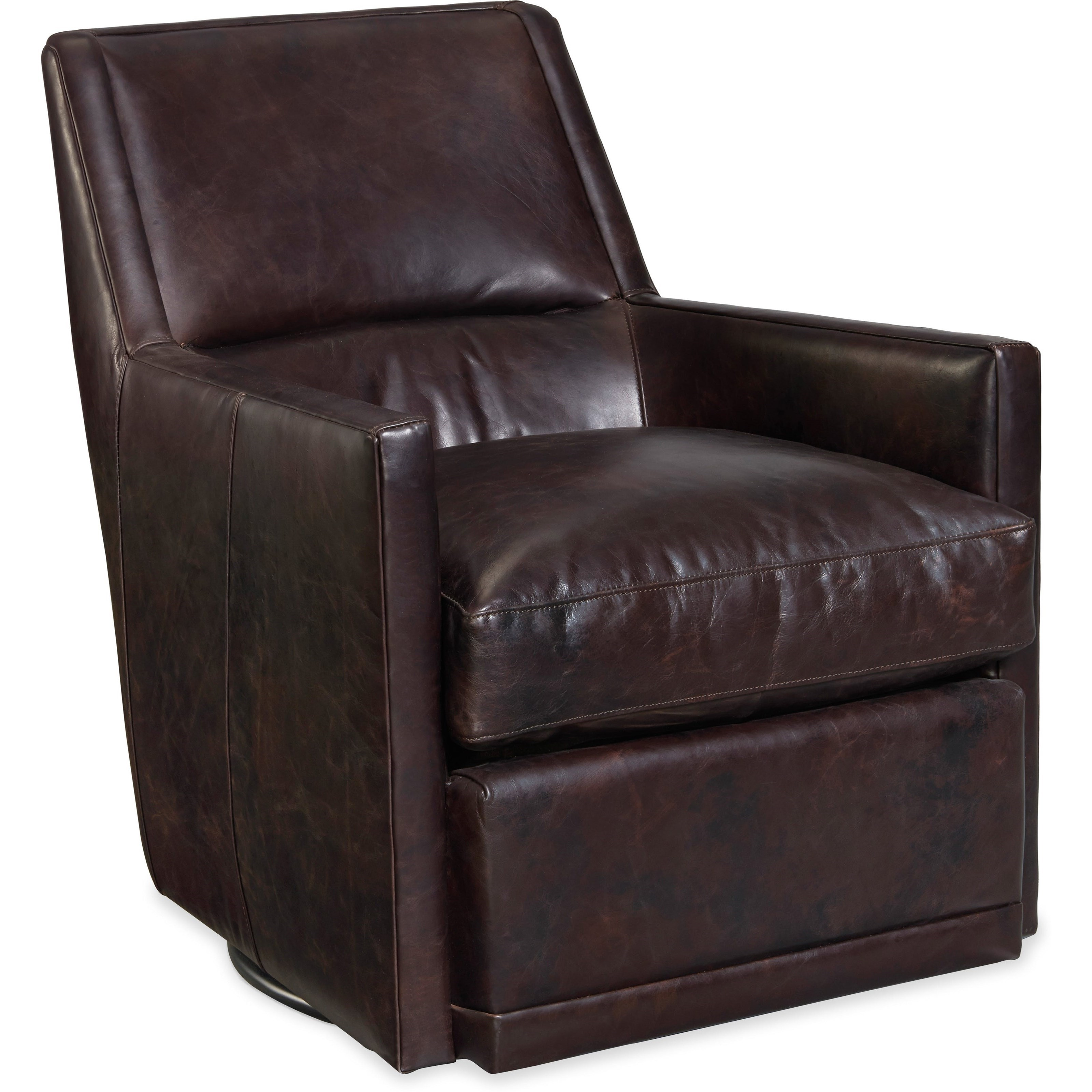 Hooker Furniture Club Chairs Transitional Leather Sydney