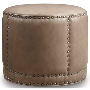 Hooker Furniture Club Chairs Dowdy Round Cocktail Ottoman