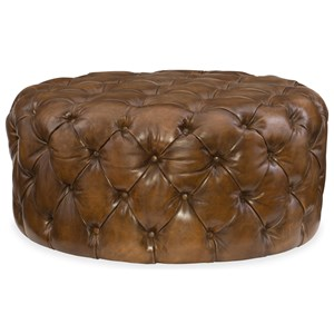 Hooker Furniture Club Chairs Hazel Round Ottoman