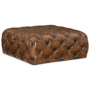 Hooker Furniture Club Chairs Ethan Square Ottoman