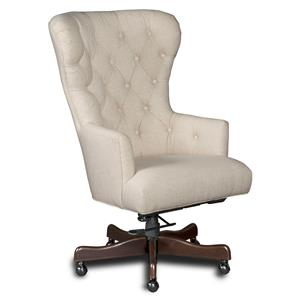 Hooker Furniture Executive Seating Larkin Oat Home Office Chair