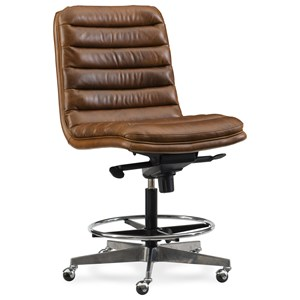 Hooker Furniture Executive Seating Wyatt Tall Home Office Chair