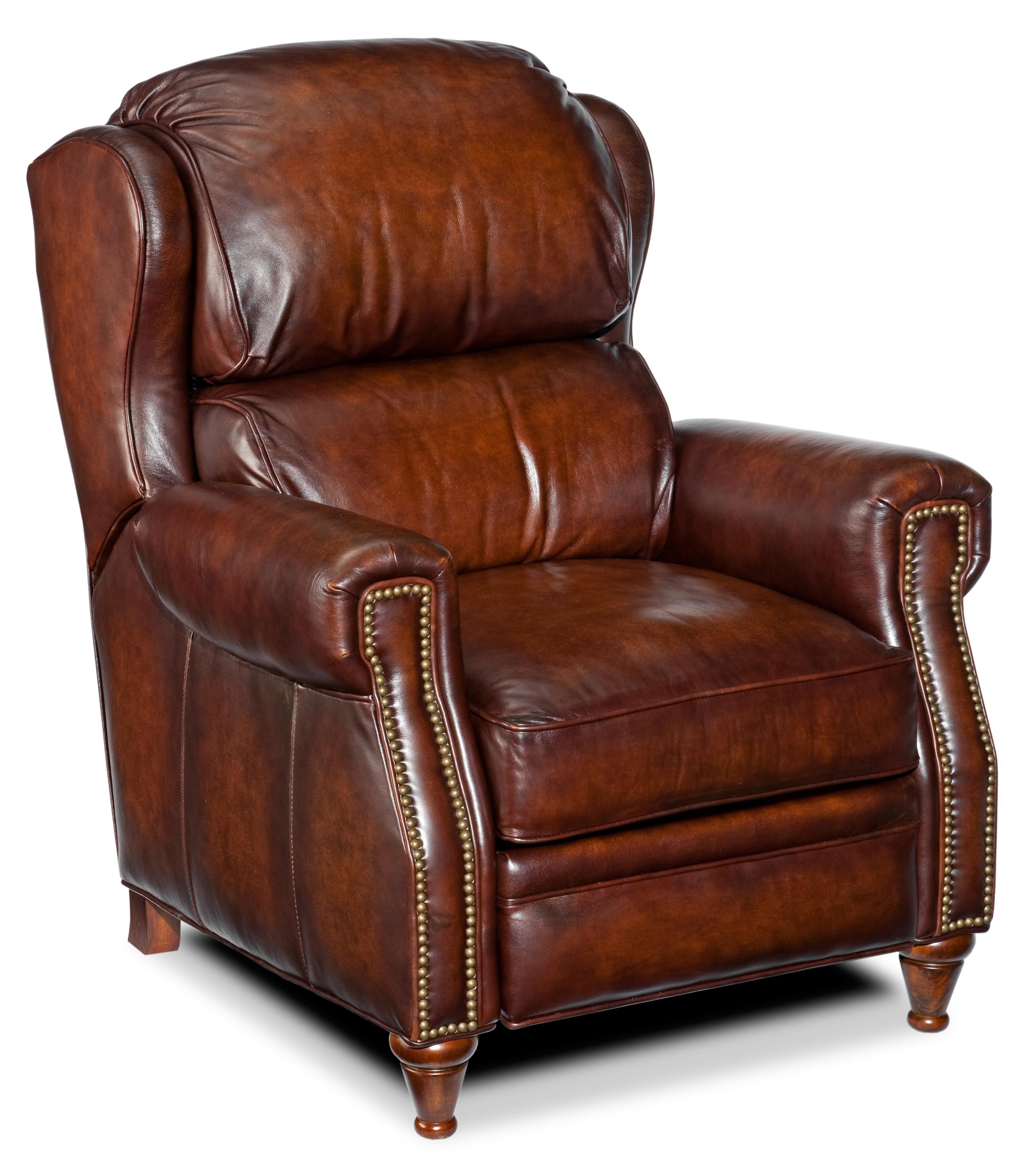 Hooker Furniture Reclining Chairs High Leg Recliner - Item Number: RC277