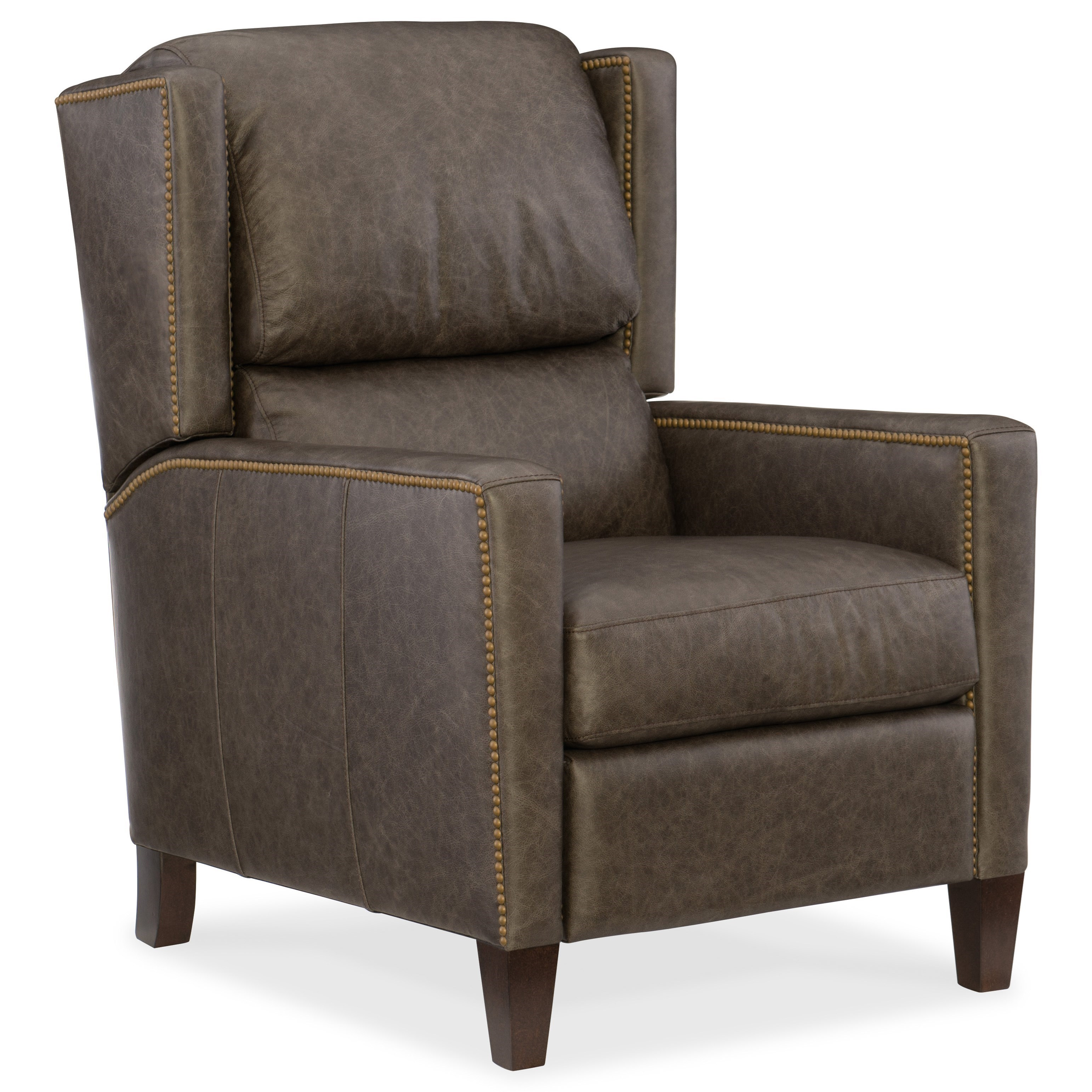 Hooker Furniture Reclining Chairs Paul Recliner With Nailhead Trim Fashion Furniture High
