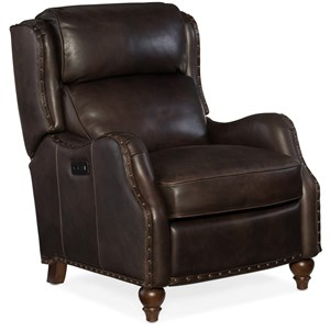Hooker Furniture Reclining Chairs Tutor Power Recliner with Power Headrest