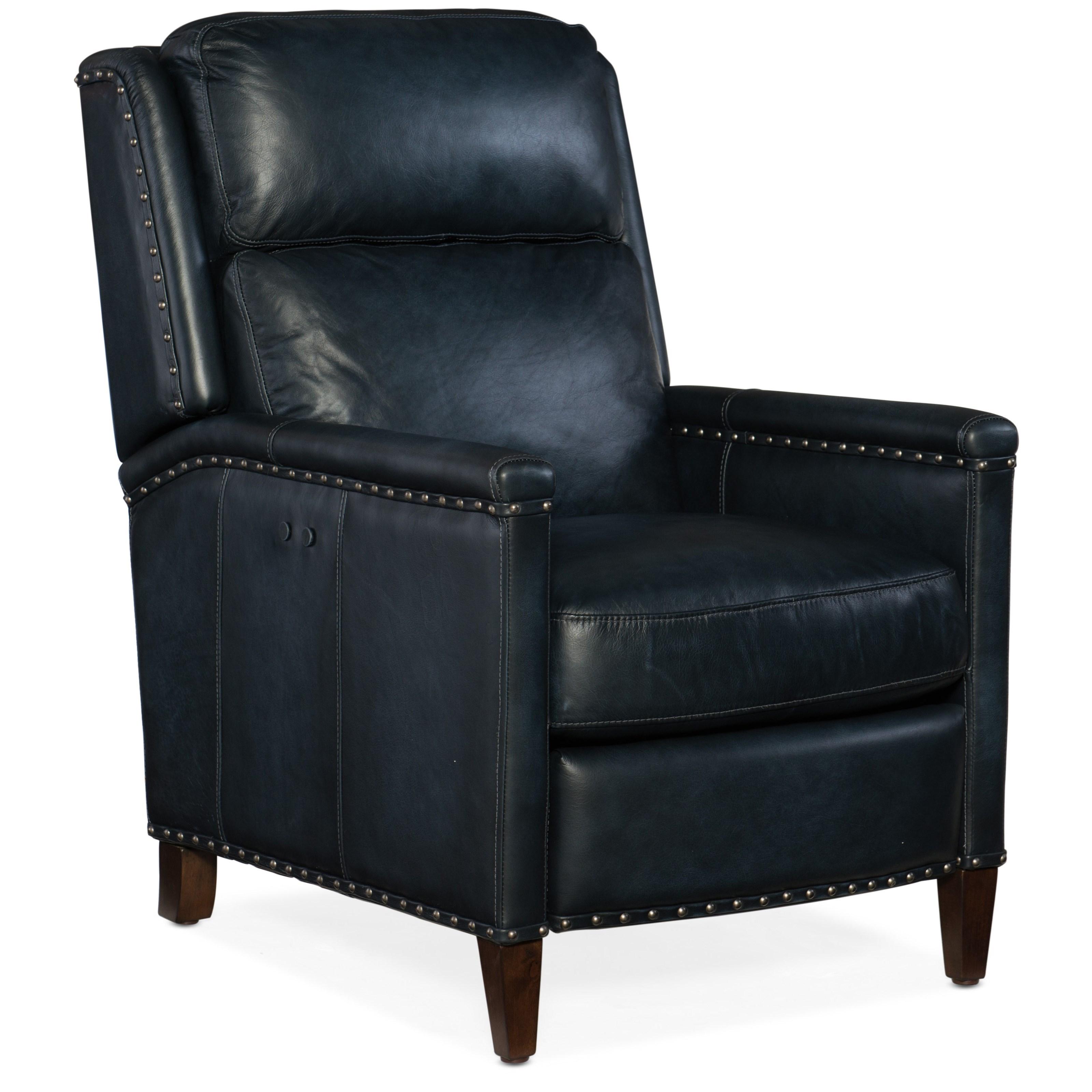 Hooker Furniture Reclining Chairs Zen Transitional Power Recliner With  Nailhead Trim