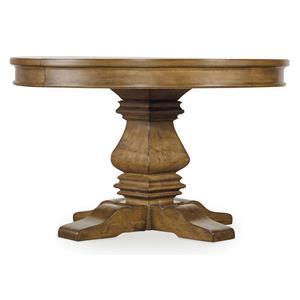 Hooker Furniture Shelbourne Pedestal Dining Table