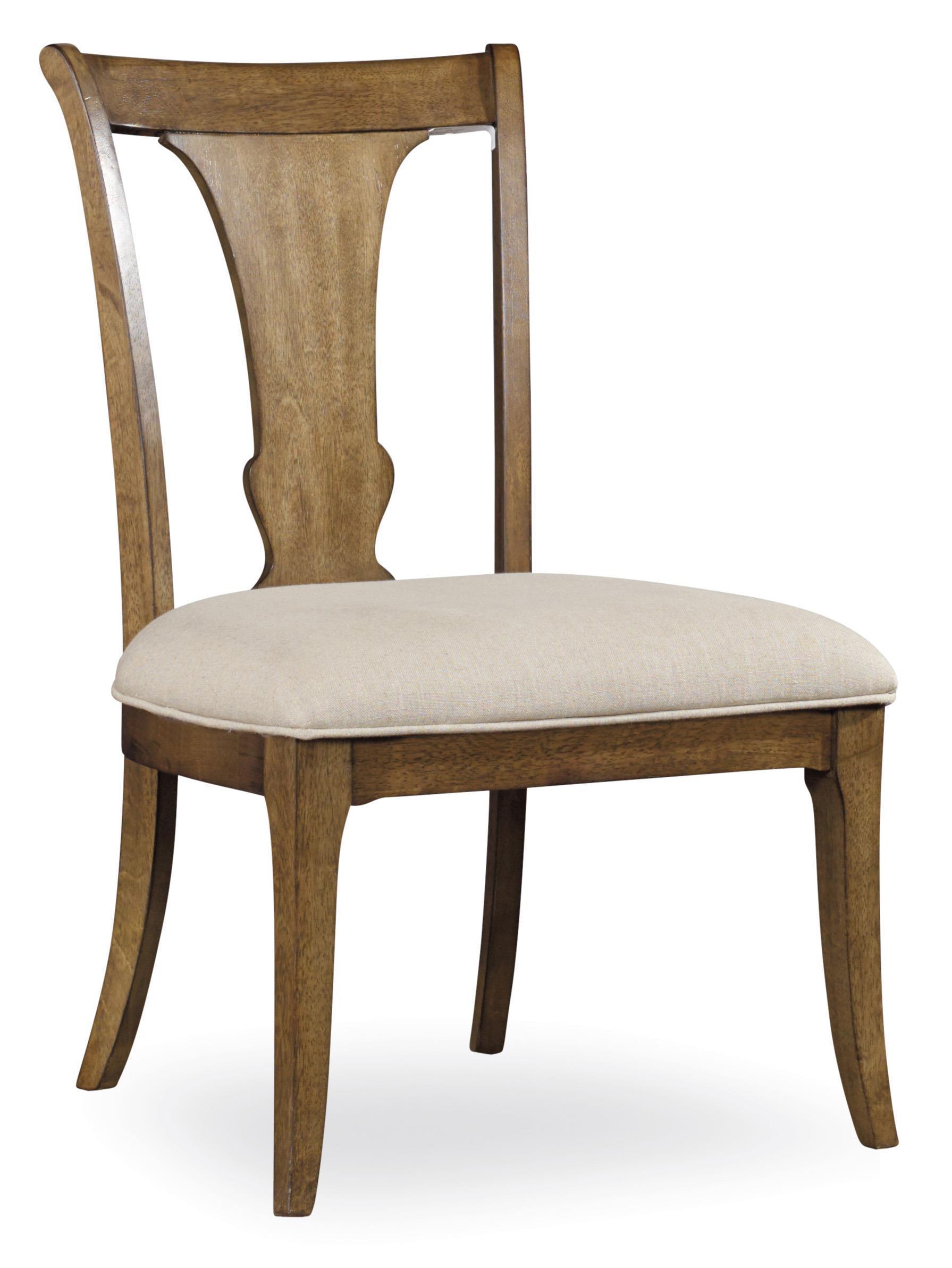 Hooker Furniture Shelbourne Splatback Side Chair - Item Number: 5339-75310