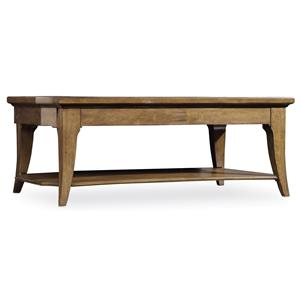 Hooker Furniture Shelbourne Rectangle Cocktail Table