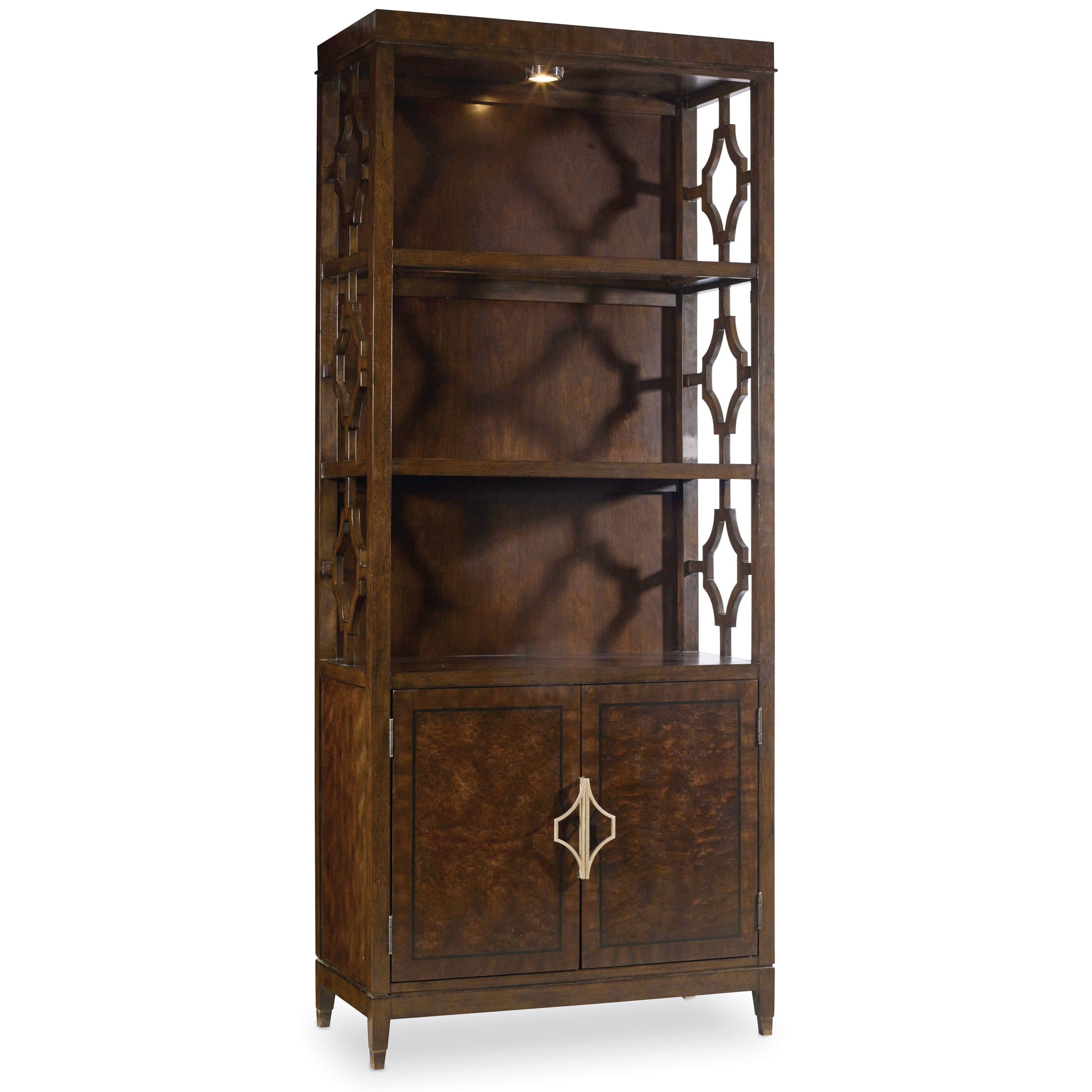 Hooker Furniture Skyline Bunching Bookcase - Item Number: 5336-10446