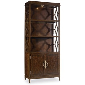Hooker Furniture Skyline Bunching Bookcase