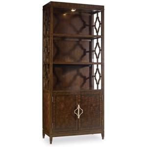 Hooker Furniture Skyline Bunching Bookcase