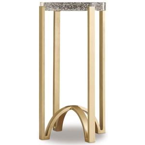 Hooker Furniture Skyline Metal Accent Table