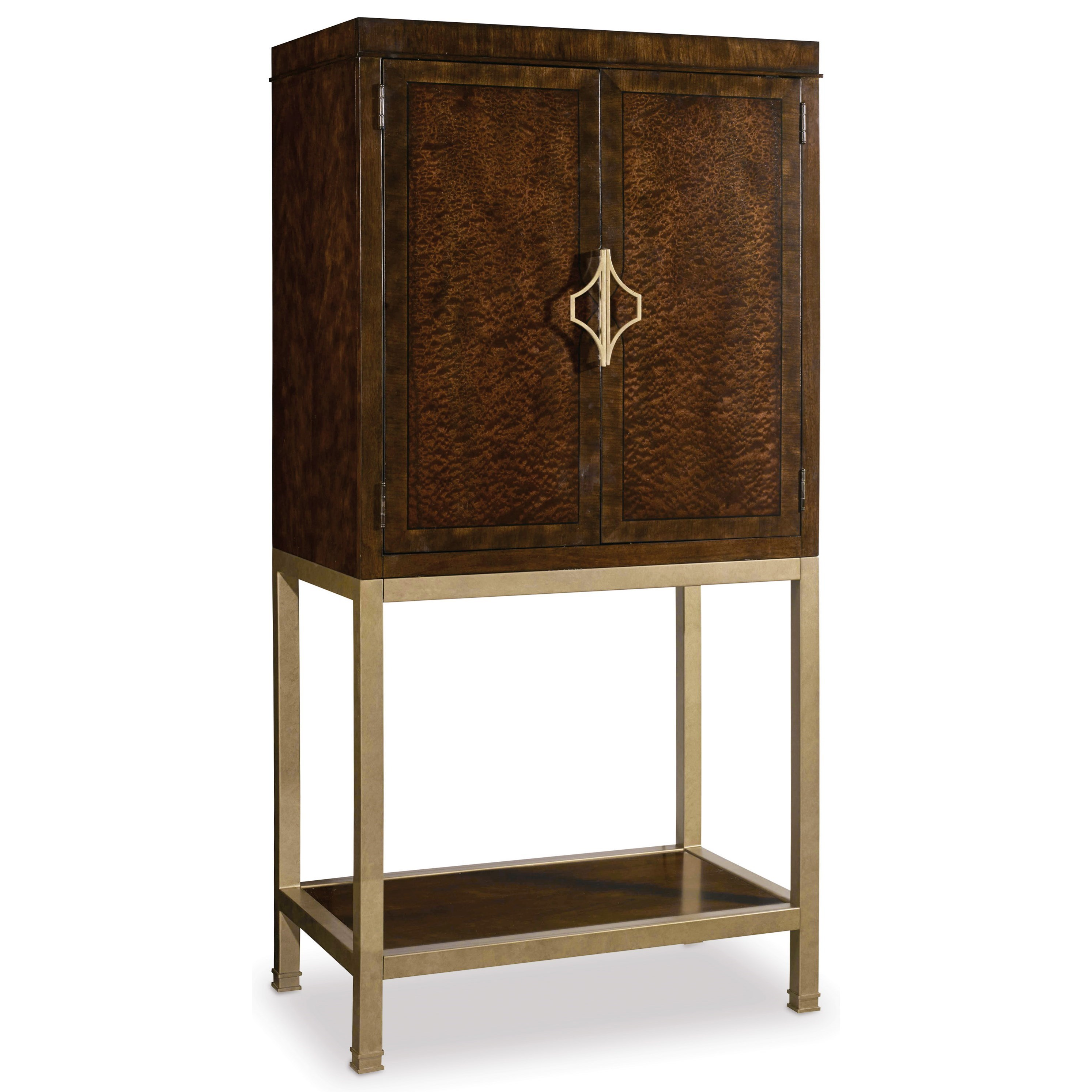 Hooker Furniture Skyline Bar Cabinet - Item Number: 5336-75160