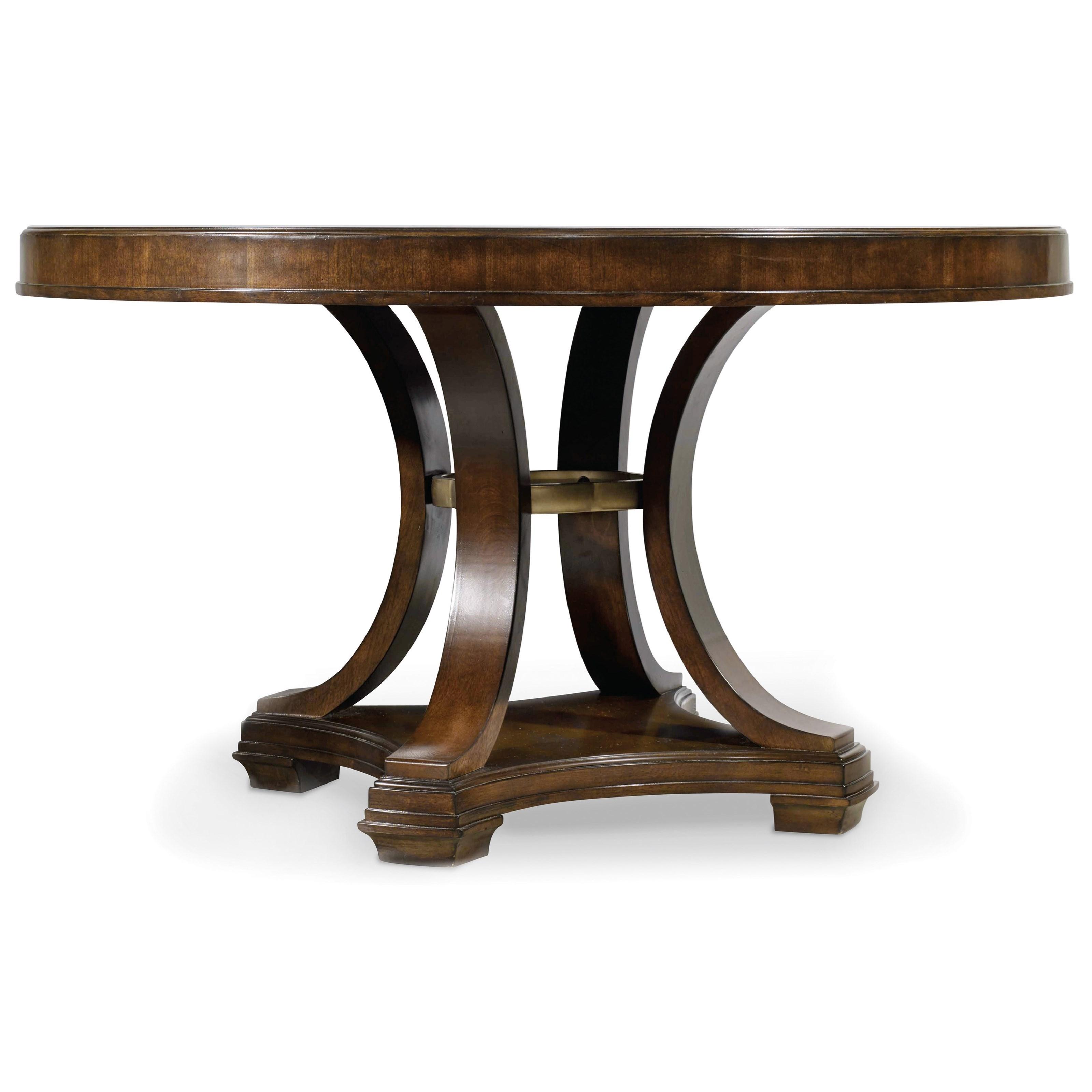 Hooker Furniture Skyline Round Dining Table - Item Number: 5336-75203