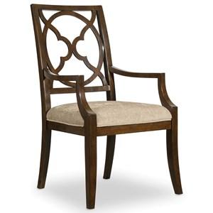Hooker Furniture Skyline Fretback Arm Chair