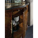 Hooker Furniture Skyline Server with Black Granite Top