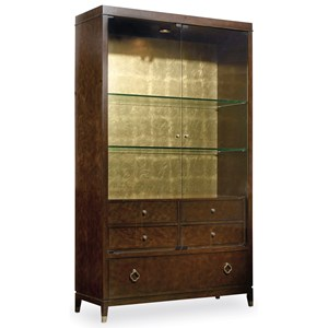 Hooker Furniture Skyline Display Cabinet