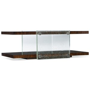 Hooker Furniture Skyline Bubble Glass Cocktail Table