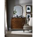 Hooker Furniture Skyline Bureau with Drop-Front Media Drawers