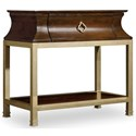 Hooker Furniture Skyline Nightstand with Open Shelf
