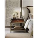 Hooker Furniture Skyline Nightstand with Open Shelf