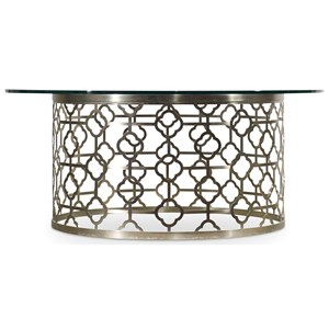 Hooker Furniture Skyline Round Cocktail Table