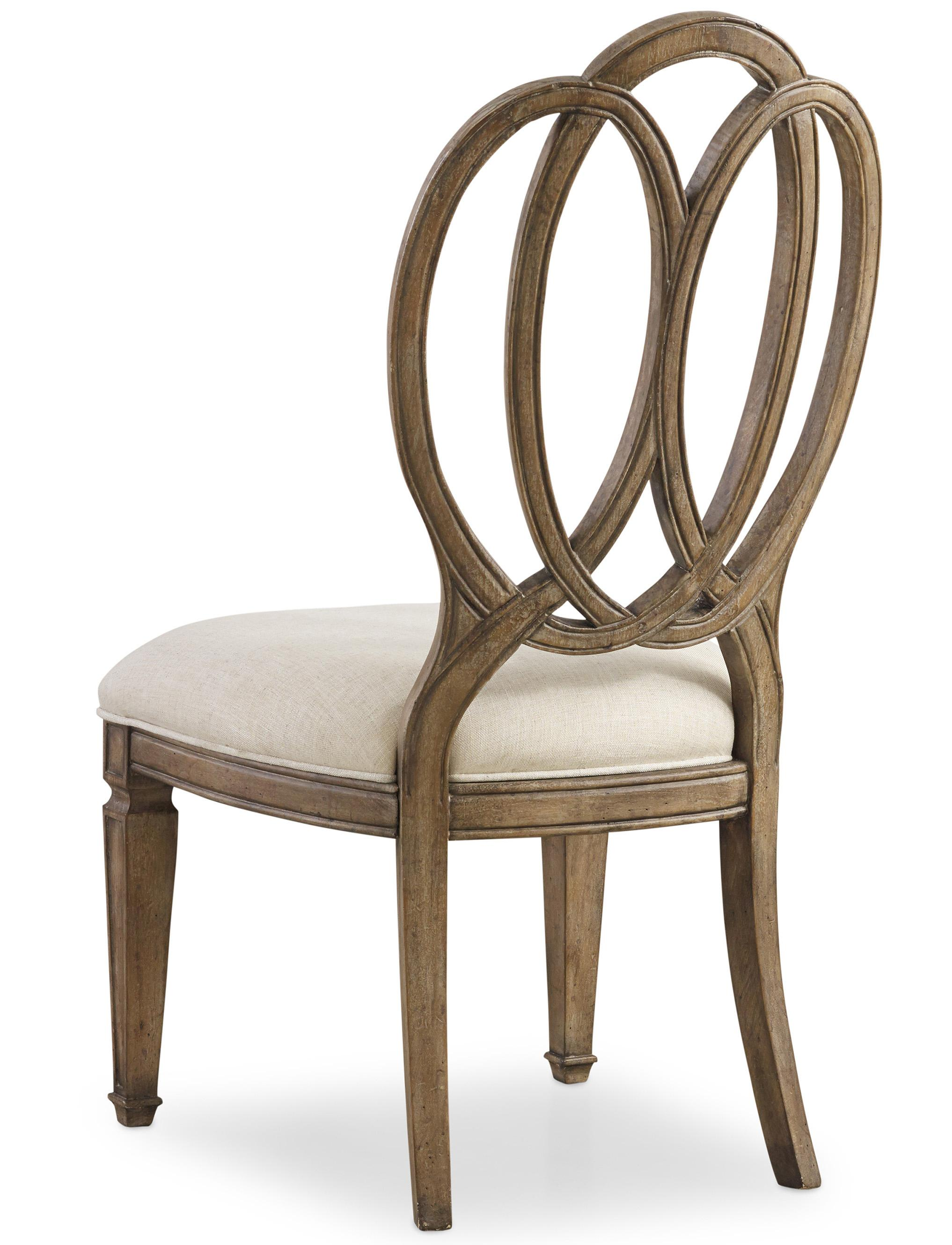 Hooker Furniture Solana Side Chair with Overlapping Open ...