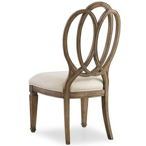 Hooker Furniture Solana Wood Back Side Chair