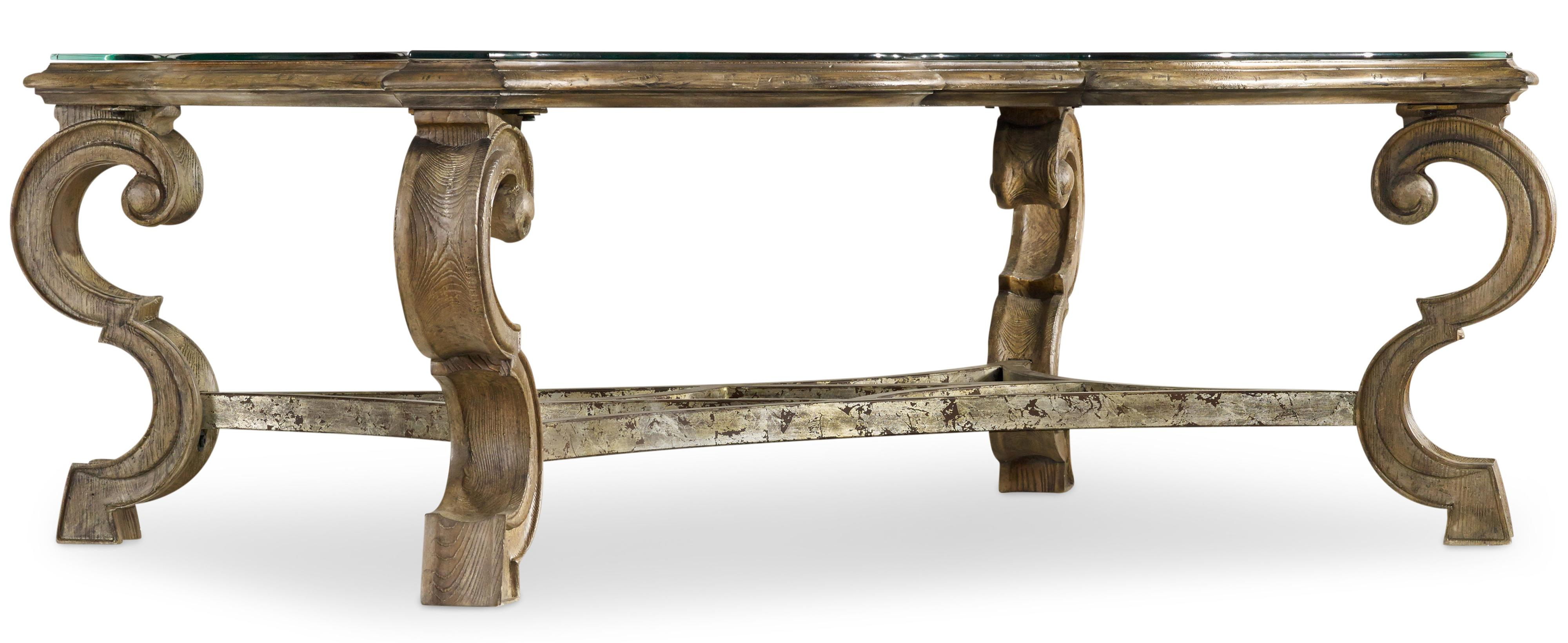 Hooker Furniture Solana Rectangle Cocktail Table - Item Number: 5291-80110
