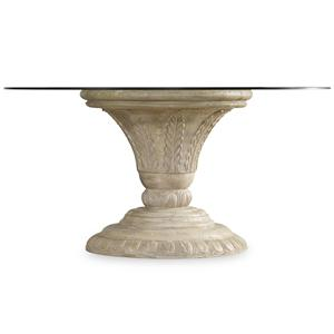 Hooker Furniture Solana Round Dining Pedestal Table