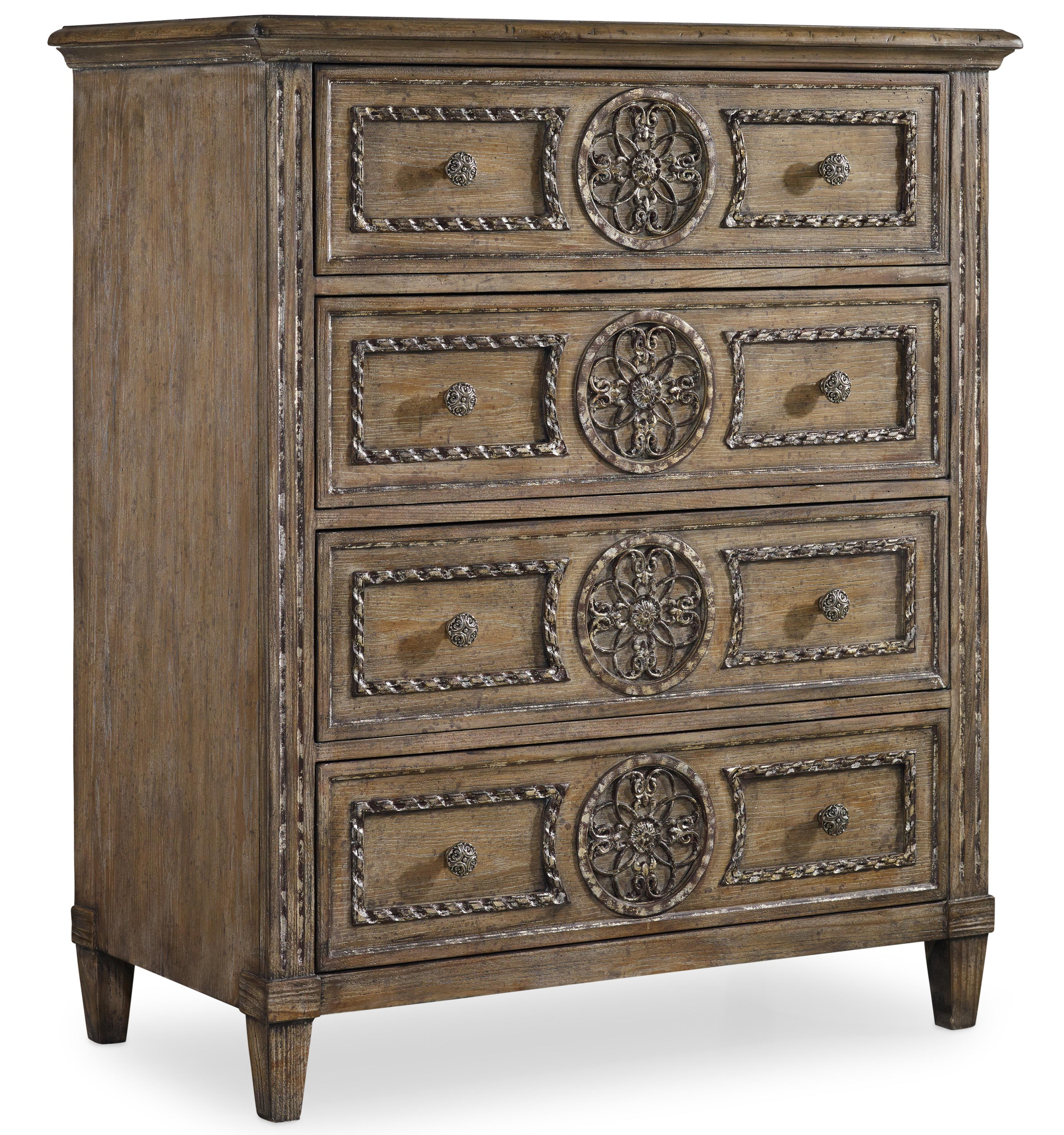 Hooker Furniture Solana Tall Chest - Item Number: 5491-90110
