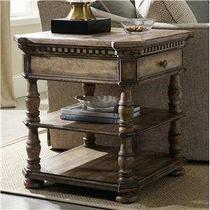Hooker Furniture Sorella Square End Table