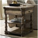 Hooker Furniture Sorella Square End Table - Item Number: 5107-80113
